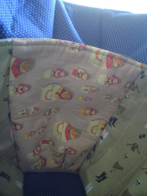Diaper bag bottle pocket