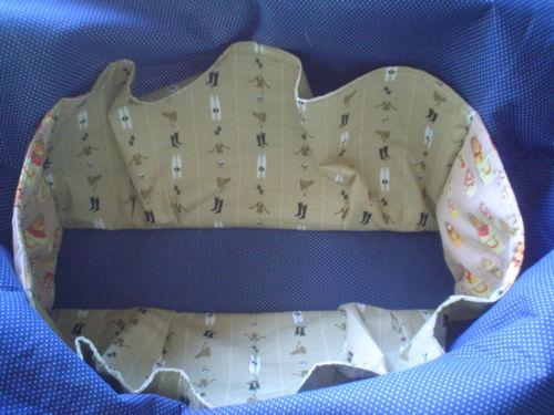 Diaper bag interior